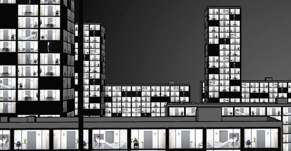 image de l'oeuvre Night city de  Johan Berard Johan Berard
