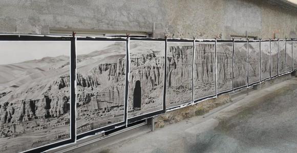 image de l'oeuvre Falaise de Bâmiyân de  Pascal Convert