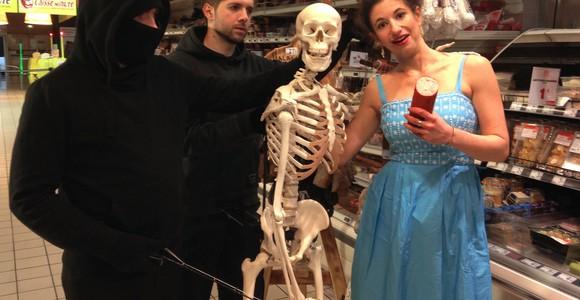 image de l'oeuvre Sheldon, Le Squelette Humaniste de  Tamar Hirschfeld Tamar Hirschfeld Tamar Hirschfeld