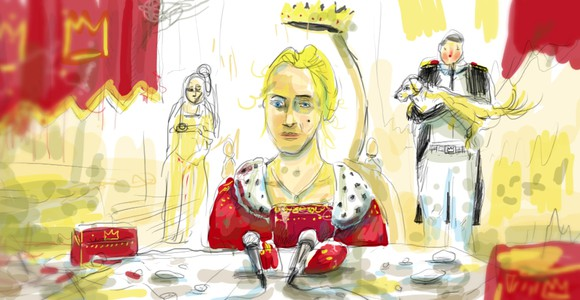 image de l'oeuvre Le roi des belges de  Pierre Mazingarbe Pierre Mazingarbe