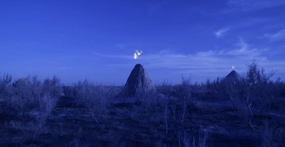 image de l'oeuvre Two horizons de  Saodat Ismaïlova Saodat Ismaïlova