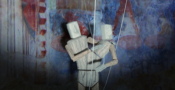 image de l'oeuvre Rituel du pantin de  Thibaut Rostagnat Thibaut Rostagnat