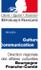 Ministère de la Culture et de la Communication - DRAC Bourgogne-Franche-Comté Directions régionales des affaires culturelles - Bourgogne-Franche-Comté