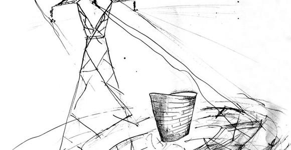 image de l'oeuvre Electric chair de  Leslie Bloquert Leslie Bloquert
