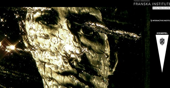 image de l'oeuvre In cryo video de  Eric Mutel