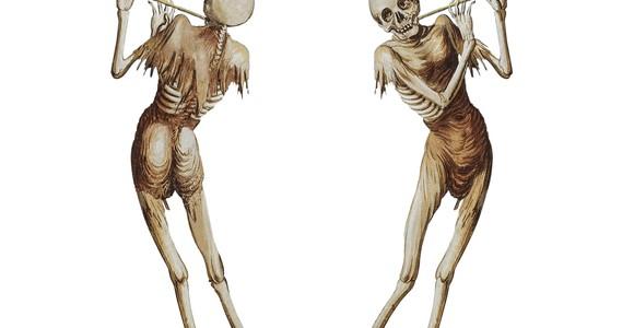 image de l'oeuvre Danse Macabre 2001-2015 de  Gérard Collin-Thiébaut