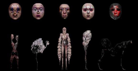 image de l'oeuvre SCUM MUTATION de  Stéphanie Gervot Stéphanie Gervot