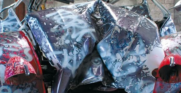 image de l'oeuvre Expanded crash de  Florian Pugnaire Florian Pugnaire