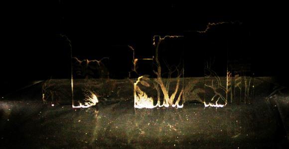 image de l'oeuvre L'île des ondes millénaires de  Akiko Okumura Akiko Okumura
