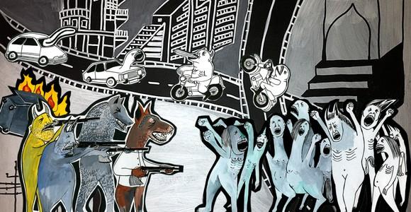image de l'oeuvre Sabour de  Tamara Erde Tamara Erde Elika Hedayat Elika Hedayat