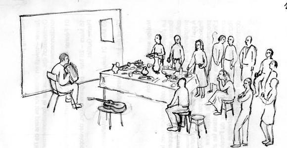 image de l'oeuvre La répétition de  Veaceslav Druta