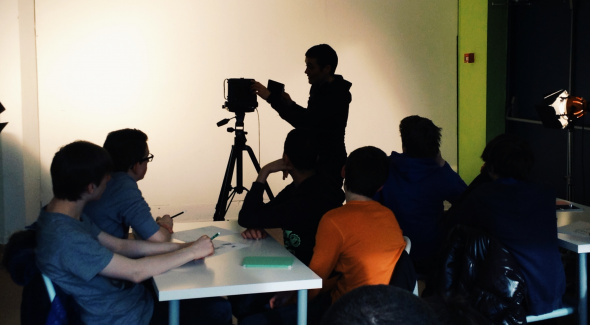 Atelier photo animé par Anna-Katharina Scheidegger