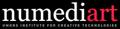 UMONS/NUMEDIART L'Institut NUMEDIART pour les Technologies des Arts Numériques (www.numediart.org) a été créé en 2010 en prolongement du programme d'excellence NUMEDIART financé par la Région wallonne (2007- 2012). Il est le fruit de nombreuses années de préparation qui ont permis à l'UMONS d'acquérir une expertise reconnue au niveau international dans le domaine du traitement du son, de l'image, de la vidéo, des gestes et des bio-signaux pour les applications où l'interaction homme-machine vise à faire naître l'émotion.  L'Institut a pour mission d'assurer des activités de formation et de recherche dans le domaine des technologies des arts numériques, tout en capitalisant sur la dynamique enclenchée dans le cadre de Mons 2015, et de contribuer à la valorisation et à la création de nouvelles activités dans le secteur des industries créatives.  Les activités de l'Institut sont placées sous la guidance d'un conseil stratégique, le Consortium NUMEDIART, qui compte une quinzaine de membres basés en Wallonie, parmi lesquels des représentants de la recherche, des arts, du spectacle et des entreprises. Le Consortium se réunit régulièrement et assure une adéquation optimale entre les thèmes des projets de recherche menés par l'Institut et les besoins régionaux en vue de contribuer au développement scientifique, économique et culturel.  L'Institut a ainsi établi des collaborations:      avec les écoles du Pôle Hainuyer dans le domaine des arts numériques,     avec les entrepreneurs wallons dans le secteur des industries de la création,     avec les incubateurs régionaux susceptibles de porter des projets d'entreprise liés aux technologies de création numérique,     avec de nombreuses universités et centres de recherche en Europe et au Canada centrés sur le domaine « arts/ sciences/technologies ».  Source: https://portail.umons.ac.be/FR/infossur/intranet/numediart/Pages/default.aspx