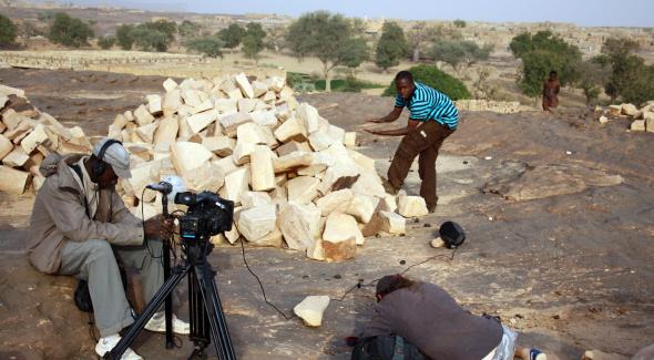 "Tournage du film ""Faraw Ka Taama"" de Seydou Cissé - 2012"