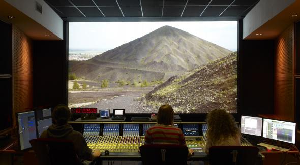 Auditorium de mixage Film agréé Dolby et CNC