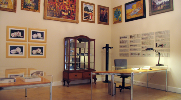 Gérard Collin-Thiébaut L'atelier d'aujourd'hui, en permanence depuis 1996 (photo Gérard Collin-Thiébaut 2006)