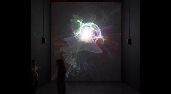 Vue de l'exposition Panorama 16