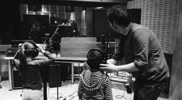 Atelier son au studio d'enregistrement